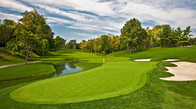 MUIRFIELD VILLAGE USA Photo by Jim Mandeville World Ranking 59位 設計 Jack Nicklaus & Desmond Muirhead (1974年)
